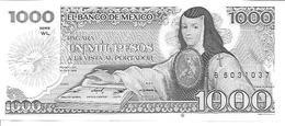 Mexico  P-80B  1000 Pesos  1984  UNC - Mexico
