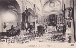 NANS LES PINS INTERIEUR DE L'EGLISE (dil54) - Nans-les-Pins