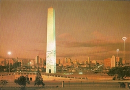 Brazil & Circulated, São Paulo, Obelisk To The Constitutionalist Soldier 1932, Braga 1979 (29) - Monuments