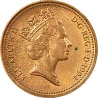 Monnaie, Grande-Bretagne, Elizabeth II, Penny, 1994, TB+, Copper Plated Steel - 1971-… : Monnaies Décimales