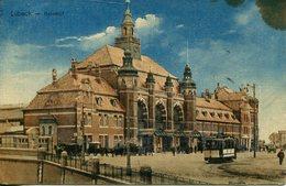 005695  Lübeck - Bahnhof  1912 - Luebeck