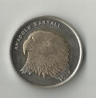 Turkey 1 Lira, 2014 Anatolian Eagle - Turchia