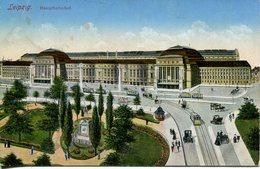 005696  Leipzig - Hauptbahnhof  1922 - Leipzig