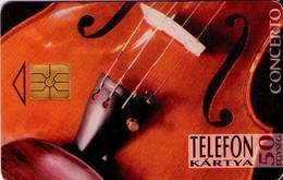 TARJETA TELEFONICA DE HUNGRIA. CONCERTO. HU-P-1995-08B. (208) - Música