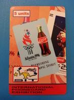 SIT 2007 Houilles Coca Cola JO Atlanta 1 Carte 100 Exemplaires Willcom - Israel