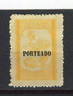 MACAO - Y&T Taxe N° 53(*) - Dragon - Macao