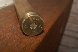 Douille De 37 15 P  //  Mine , Grenade DOUILLE ALLEMANDE AVEC AIGLE (bain Flak) - Armas De Colección