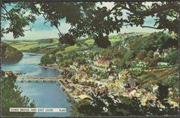 Town Bridge And East Looe, Cornwall, C.1960 - Postcard - England