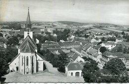 005704  Hollabrunn - Teilansicht Mit Kirche  1961 - Hollabrunn