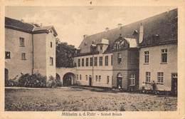 Muehlheim Müllheim A D Ruhr  Schloss Broich Spiegelschrift Achteraan De Kaart Geschreven Adelaar Postzegel   X 4368 - Muehlheim