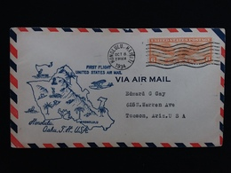 STATI UNITI - 1° Volo Honolulu-Tucson 1934 + Spese Postali - Posta Aerea