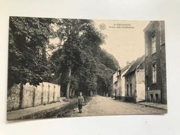 Carte Postale Ancienne (1923) OVERYSSCHE Drève VersHuldenberg - Overijse