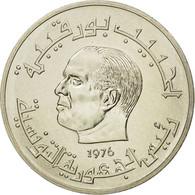 Monnaie, Tunisie, Habib Bourguiba, 1/2 Dinar, 1976, Paris, ESSAI, FDC - Tunisie