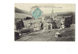 Cpa - 25 - MONTBENOIT - L'Abside Et Le Nouveau Cocher De L'Abbaye - N°9 - Cabane De Jardin Potager - 1907 - France