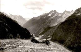 Blick Von Der Lehnerjoch-Hütte Zum Kaunergrat * 17. 7. 1967 - Pitztal