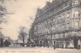[75] PARIS  > Arrondissement > (Arrondissement: 05 06) Le Boulevard Saint Michel (Grand Hôtel D'Harcourt) - Arrondissement: 05