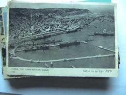 Israël Haifa Town And Mt Carmel Panorama - Israël