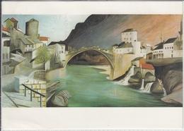 MOSTAR MOSZTARBAN  CSONTVARY KOSZTKA TIVADAR  USED  ART PC - Bosnië En Herzegovina