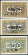 Lithuania SET - 0.10 0.20 0.50 Talonas 1991 - UNC - Lituania