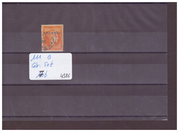GRECE - No MICHEL 111 OBLITERE  - !!! WARNING: NO PAYPAL!!! - COTE: 50 € - 1900-01 Overprints On Hermes Heads & Olympics