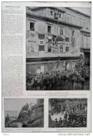 Gabriele D´Annunzio à Fiume - Grand Portrait -  Page Original - 1919 - Historical Documents