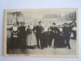 Middelburg, Annetje En Lysjesdag Groep In Klederdracht Folklore Gelopen 1932 - Middelburg