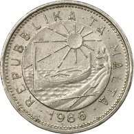 Monnaie, Malte, 10 Cents, 1986, British Royal Mint, TB+, Copper-nickel, KM:76 - Malta