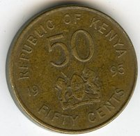 Kenya 50 Cents 1995 KM 28 - Kenya
