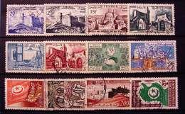 TUNISIA USATI LOTTO (K725) - Tunisia (1956-...)