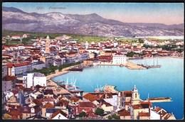 Croatia Split 1926 / Panorama, Port, Ships / Kingdom SHS / Purger - Croatie