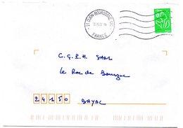 COTE D'OR - Dépt N° 21 = DIJON BOURGOGNE CTC 2007 = FLAMME à DROITE = SECAP Muette ' 5 Lignes Ondulées' - Postmark Collection (Covers)