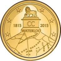 Belgie 2015  2,50 Euro Slag Bij Waterloo 1815 -  Bataille De Waterloo 1815     Extreme Rare !!! UNC - Belgium