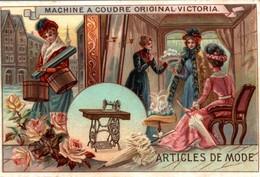 CHROMO MACHINE A COUDRE ORIGINAL VICTORIA - Chromos