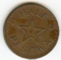 Ghana Half 1/2 Pesewa 1967 KM 12 - Ghana