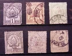 TUNISIA USATI LOTTO (K729) - Tunisia (1956-...)