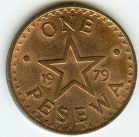 Ghana 1 Pesewa 1979 KM 13 - Ghana