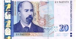 Bulgaria P.118b 20 Lev 2007 Unc - Bulgaria