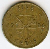 Ghana 5 Cedis 1984 KM 26 - Ghana