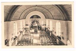 CPA : NAMUR Salzinnes  - L' Hôpital Militaire - Intérieur De La Chapelle - Namur