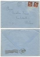 Luogotenenza Re Di Maggio 8giu 1946 Busta Bologna Democratica L.2x2 Per Milano - 1944-46 Lieutenance & Humbert II