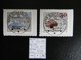 """2014  """" Pilze """"  Ersttag, Staffelbach Gestempelt,  LOT 974 - Schweiz"""