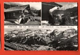 FKF-14 Auberge De La Jeunesse Le Rosex Les Ormonts Multivues. Circulé En 1970, Timbre Manque - VD Vaud