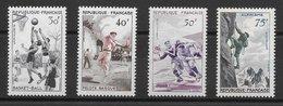 France N°1072 à 1075 1956 (sport) ** - France