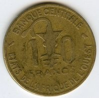 Afrique De L'Ouest West African States Union Monétaire 10 Francs 1970 BCEAO UMOA KM 1a - Monnaies
