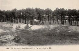 LE TOUQUET PARIS PLAGE .  Vue Sur Le Golf - Le Touquet