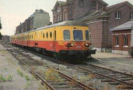 CHIMAY - La Gare - Autorail Triple 4001 (C.W. Mechelen 1956) - Chimay