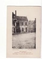 Belgique - Loo, Grand'Place, L'effet D'un Obus De 150 - Lo-Reninge