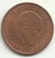 2 Centimos 1975 Moçambique Rare - Mozambique