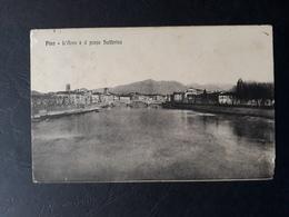 Italie - Italia - 1918 - Carte Postale De Pisa à Speria - Ferrovia - TB - Italie