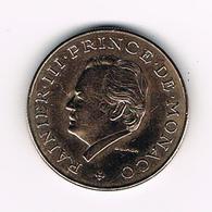 &  MONACO  10  FRANCS  PRINCE  RAINIR III   1981 - 1960-2001 Nouveaux Francs